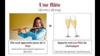 Уроки французского #75: Слова-омонимы во французском языке! Les homonyms français. Новая лексика!