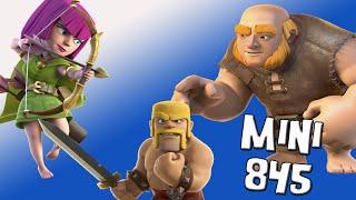 El mejor ejército para ayuntamiento 4 | Mini 845 | Descubriendo Clash of Clans