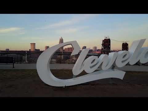 CLEclips MIX • Cleveland Skyline B-Roll • 2017 Eclipse • Ohi