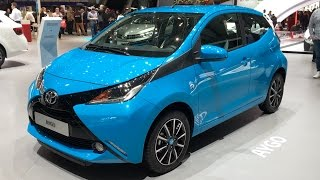 Toyota Aygo 2017 In Detail Review Walkaround Interior Exterior