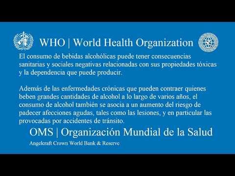Alcohól - OMS The World Health Organization