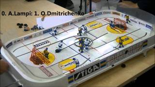 table hockey helsinki open 2011. FINAL GAME 5. Oleg Dmitrichenko vs Ahti Lampi [HD]