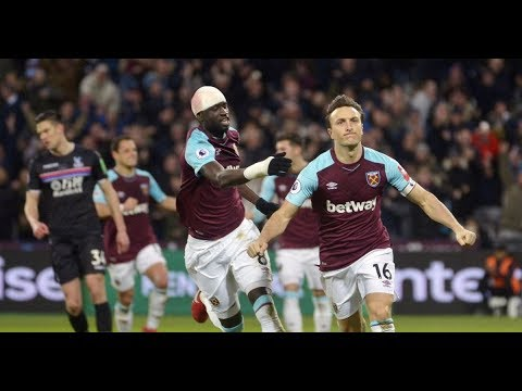 West Ham 1 1 Crystal Palace Mark Noble penalty hands injury hit Hammers hard fought point
