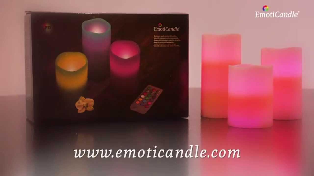 4c32b88eebf EmotiCandle LED-küünlad (3 tk/pk) @ kodukeskus.ee