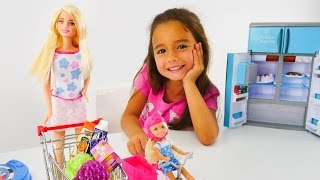 Ceylin, Barbie, Chelsea ile kız oyunları. Evcilik oyuncakları