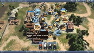 Let's Play Grand Ages: Rome - Ep01: Bread and Circuses