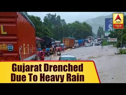 South Gujarat Drenched Due To Heavy Rain; WaterLogging Witnessed In Residential Areas  ABP
