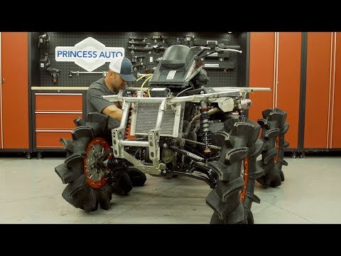 Can-Am Mud Build: Part 6 - Snorkel & Rad Relocate