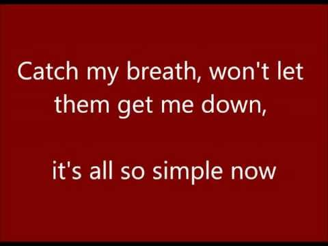 Catch My Breath - Cover video lyrics (Alex Goot & Against The Current)
