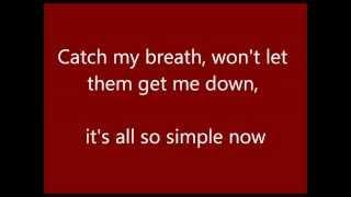 Catch My Breath - Cover video lyrics (Alex Goot & Against The Current)