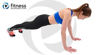 Upper Body Workout for Toned Arms, Chest and Upper Back