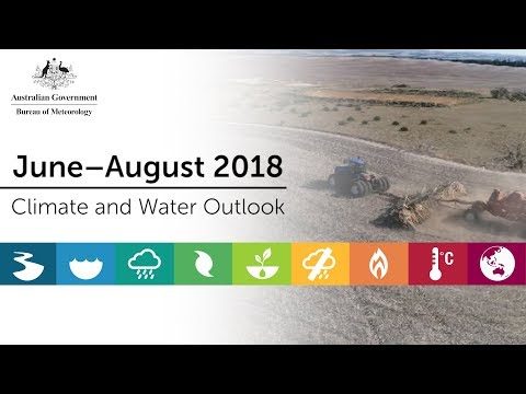 Climate and Water Outlook, June–Aug 2018