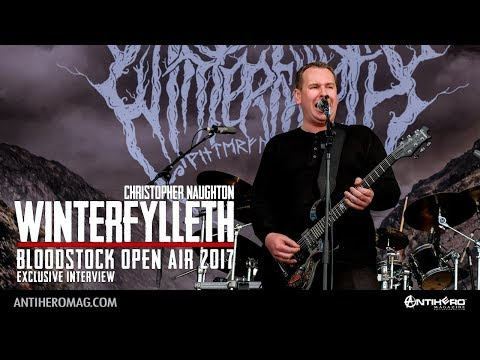 Bloodstock Open Air 2017: Interview with Christopher Naughton of Winterfylleth