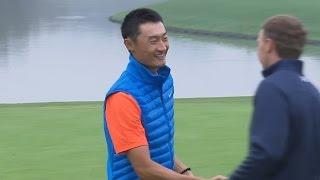 Haotong Li nearly makes magic on 72nd hole at HSBC Champions