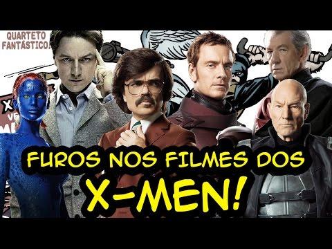 FUROS DE ROTEIRO nos filmes dos X-MEN! from YouTube · Duration:  36 minutes 58 seconds