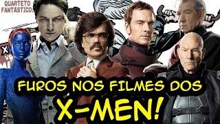 FUROS DE ROTEIRO nos filmes dos X-MEN!