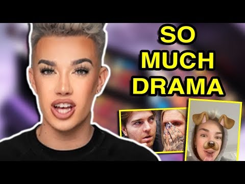 JAMES CHARLES GOT IN TROUBLE thumbnail