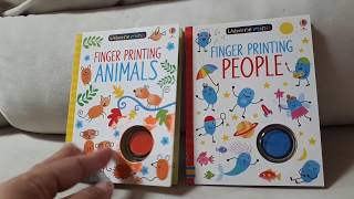 Finger Printing People and Finger Printing Animals by Ancsa
