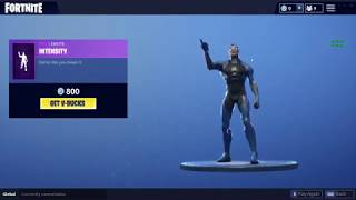 fortnite intensity emote on 11 skins