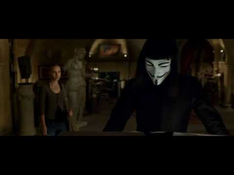 V For Vendetta: And they created a monster.