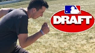 Could I Be Drafted To The MLB? MLB Combine Testing!