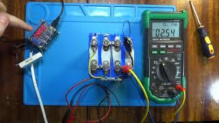 Тест BMS+LiFePo4 (Литий-железо-фосфатный аккумулятор)