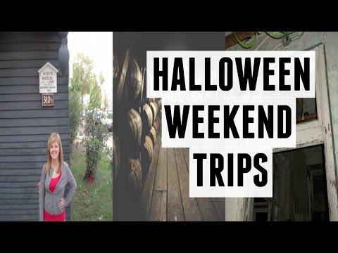 5 HALLOWEEN WEEKEND TRIPS