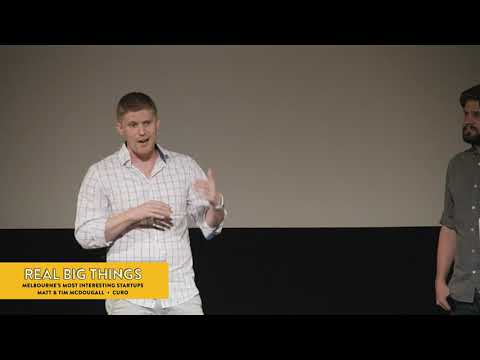 Melbourne Startups: Aged care innovation – Tim & Matt McDougall at Real Big Things #20