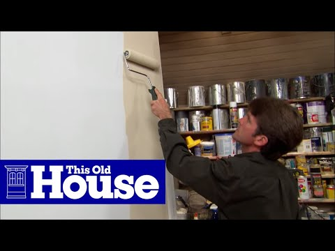 How to Choose and Use a Paint Roller - This Old House