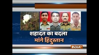 Ceasefire violation by Pakistan Rangers in J&K's Samba district, 4 BSF personnel martyred