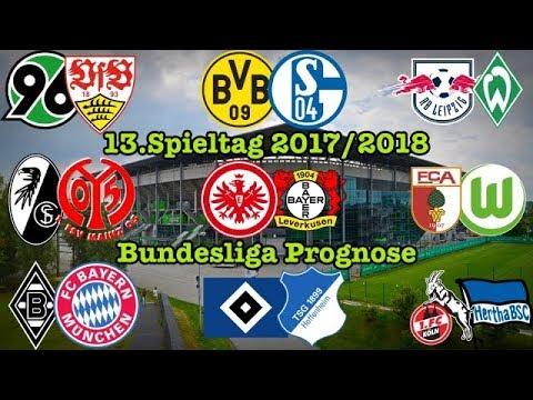 Bundesliga 13.Spieltag 2017/2018 Alle Spiele, alle Tore (FIFA 18 PROGNOSE) Deutsch (HD)