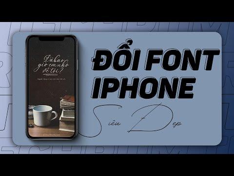 Hướng dẫn đổi kiểu chữ trên bàn phím  iPhone cực kỳ độc đáo