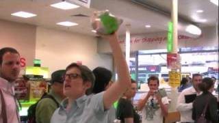 Solidarity With The Baiada Workers: Coles Flash Mob