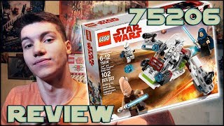 Lego Star Wars 75206 Jedi & Clone Troopers Battle Pack Review | Обзор ЛЕГО Звёздные Войны