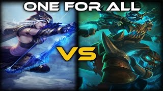 [LoL] One For All - Hecarim VS Ashe - Full Game Commentary