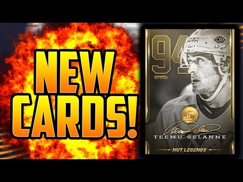 *NEW* INSANE $100 LEGENDS & PACKS! NEW NHL 19 HOCKEY ULTIMATE UPDATE!