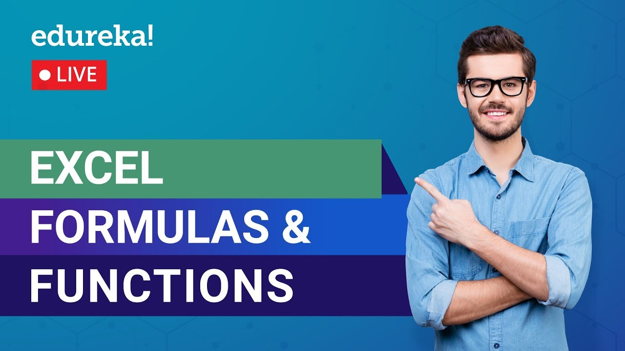 Excel Formula and Functions   Excel Tutorial   MS Excel Training