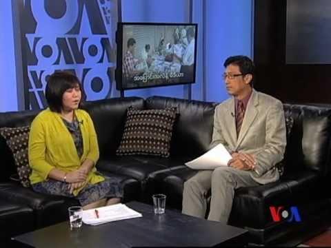 VOA Burmese TV Magazine ~ April 1st Week Program