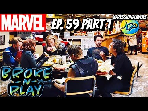 Broke-N-Play Ep. 59-Part 1-Chat about Marvel Movies, DC peeks in.