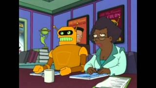 """Futurama - """"That was so terrible I think You gave me cancer!"""""""