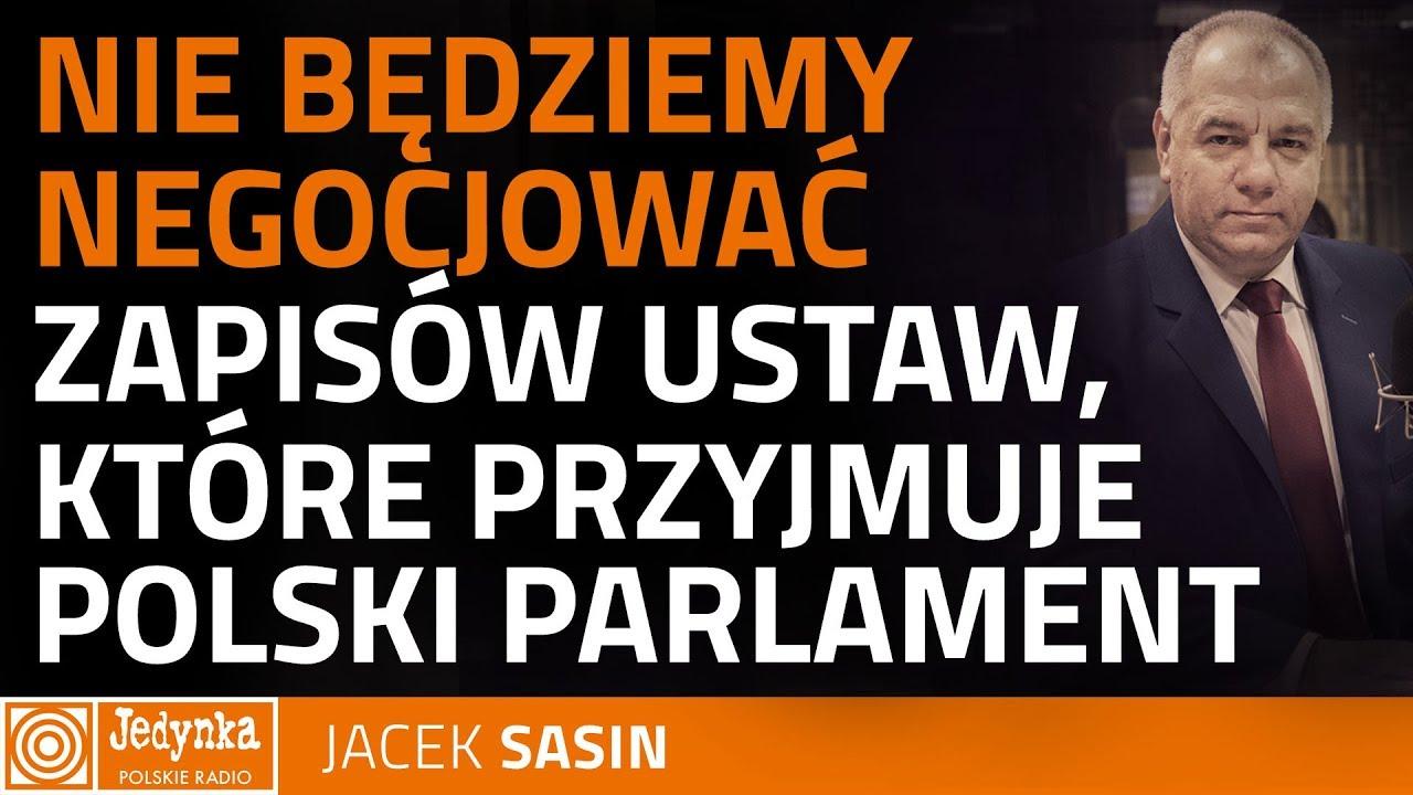 Jacek Sasin: ustawa o IPN umożliwia ściganie osób, które próbują obarczać Polskę za Holokaust