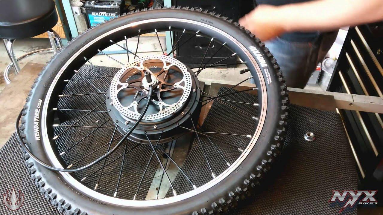 Nyx S Hub Wire Washers For Mxus 3000w V2 Youtube