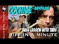 COCHISE - Bass Lesson with TABS, NOTATION and BACKING TRACK - AUDIOSLAVE