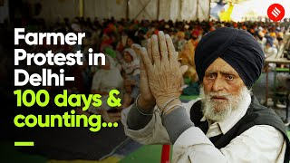 100 days \u0026 counting, farmers protest is not winding down | Singhu Border Protest