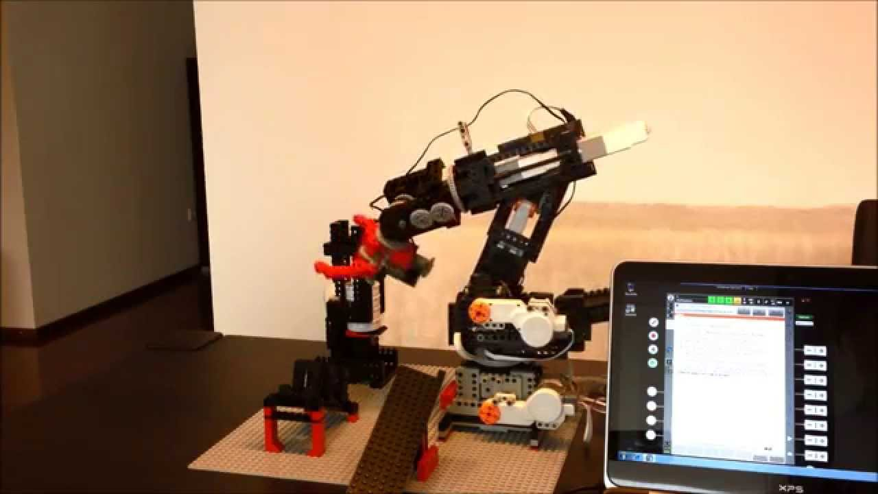 OrangeApps 6 Axis Lego Robot controlled by Lego EV3 and KRC4 - YouTube 0f9aae28a4