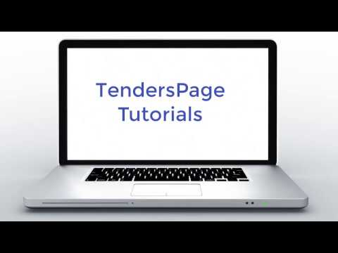 FAQ – TendersPage