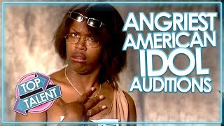 Download ANGRY & RUDEST AUDITIONS ON AMERICAN IDOL! Mp3 and Videos