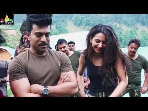 Dhruva Making Video | Choosa Choosa Song Making | Ram Charan, Rakul Preet | Sri Balaji Video