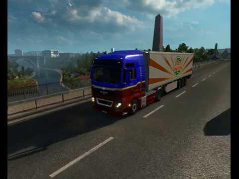 Desteapta-te Romane- Euro Truck Simulator 2 [RO] R-Trans