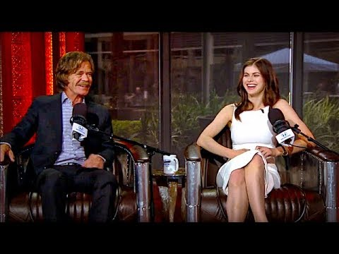 """The Layover"" Director William H. Macy & Actress Alexandra Daddario on The Rich Eisen Show In-Studio"
